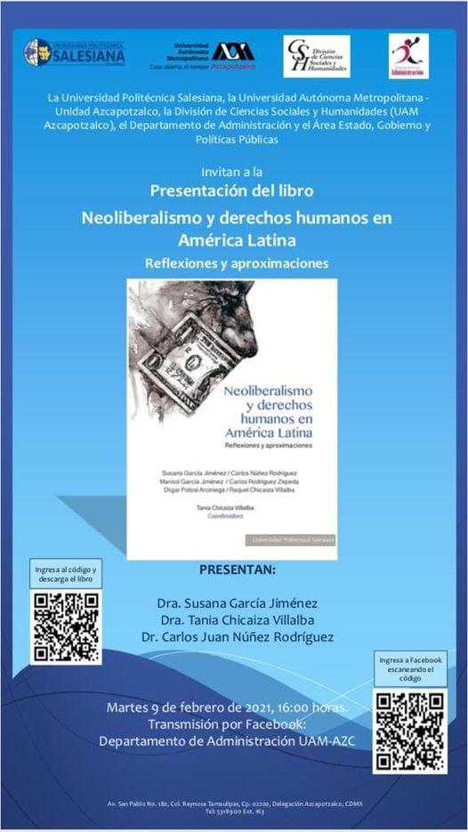 Presentación del libro Neoliberalismo y derechos humanos en América Latina